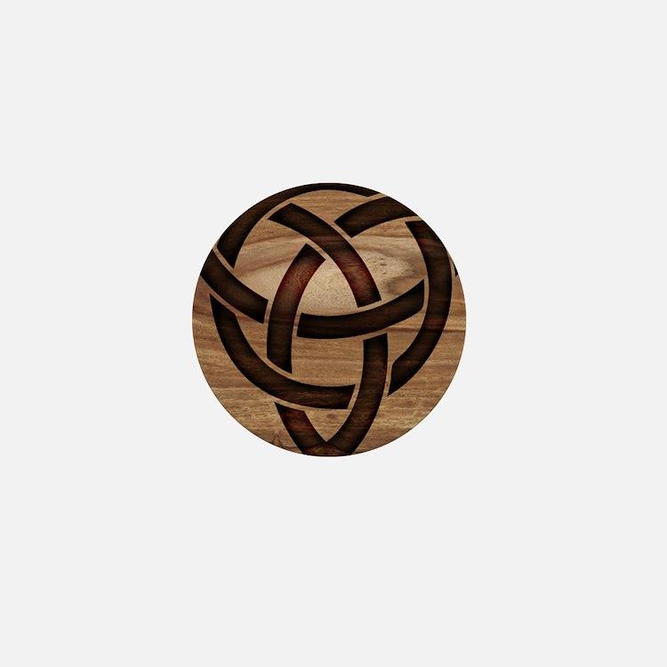 celtic knot Mini Button