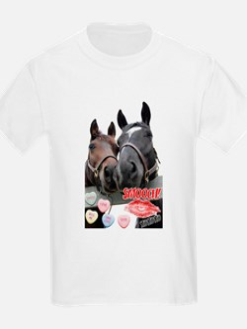 Valentine Horses T-Shirt