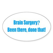 Brain Surgery Decal