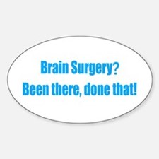 Funny Brain Surgery Decal