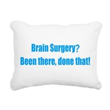 Brain Surgery Rectangular Canvas Pillow