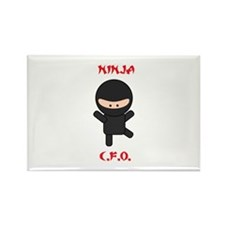 Ninja C.F.O. Rectangle Magnet