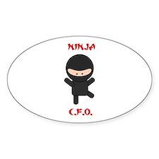 Ninja C.F.O. Decal