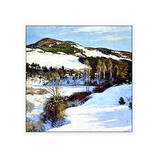 """Cornish Hills, landscape pa Square Sticker 3"""" x 3"""""""