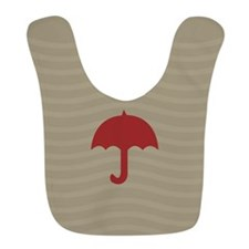Pretty Bright Red Design Bib