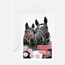 Valentine Horses Greeting Cards