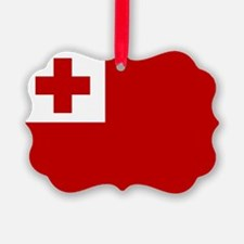 Tonga Flag Ornament