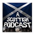 Scottish Podcast Logo Tile Coaster