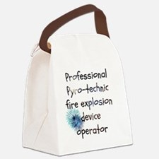 Fireworks operator Canvas Lunch Bag