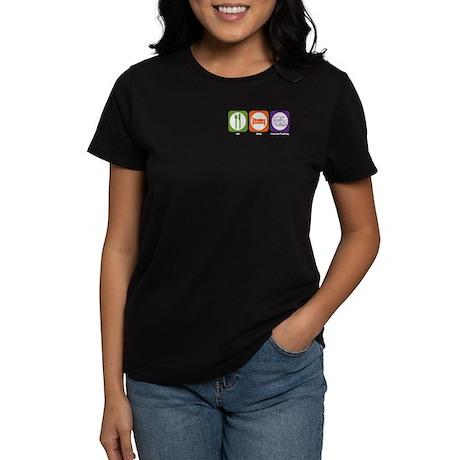 Eat Sleep Treasure Hunting Women's Dark T-Shirt