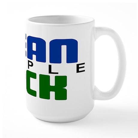 Mean People Suck Large Mug