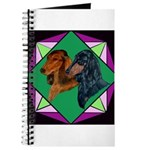 Dachshund Pair Journal