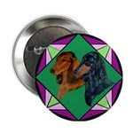 Dachshund Pair Button