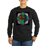 Dachshund Pair Long Sleeve Dark T-Shirt