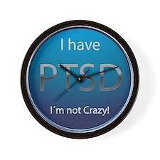 PTSD Wall Clock