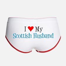 Love My Scottish Husband Women's Boy Brief