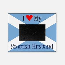 Love My Scottish Husband Picture Frame
