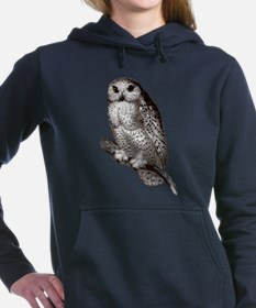 Snowy Owl Hooded Sweatshirt