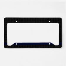 Police Carbon Fiber License Plate Holder