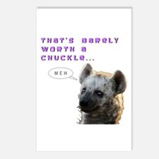 Barely Worth A Chuckle... Postcards (Package of 8)