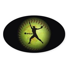 iPitch Fastpitch Softball (right handed) Decal