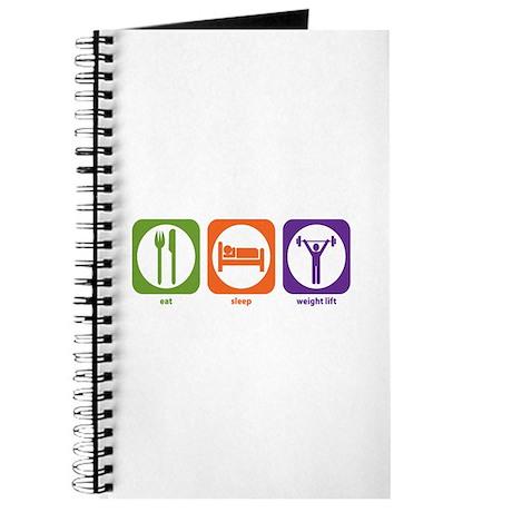 Eat Sleep Weight Lift Journal