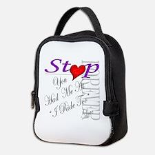 Cute Had Neoprene Lunch Bag
