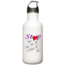 Cute You had me at hello Water Bottle