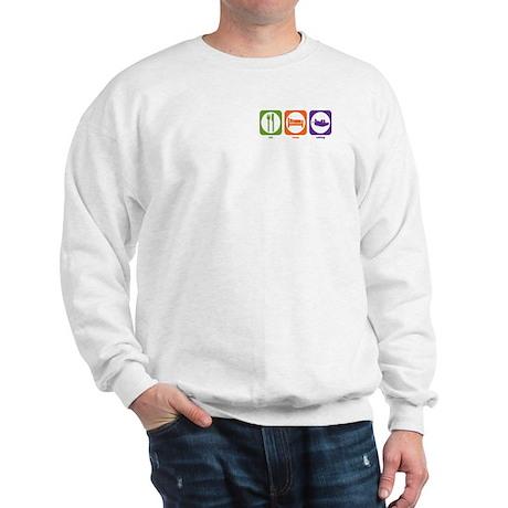 Eat Sleep Rafting Sweatshirt