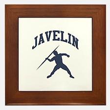 Javelin Thrower Framed Tile