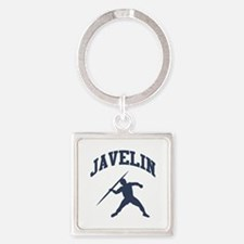 Javelin Thrower Square Keychain