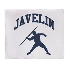 Javelin Thrower Throw Blanket