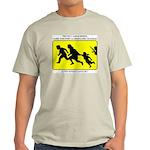 Border Crossing Sign Ash Grey T-Shirt