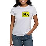 Border Crossing Sign Women's T-Shirt