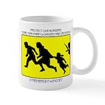 Border Crossing Sign Mug