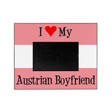 Love My Austrian Boyfriend Picture Frame
