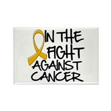 In The Fight Appendix Cancer Rectangle Magnet