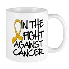 In The Fight Appendix Cancer Mug