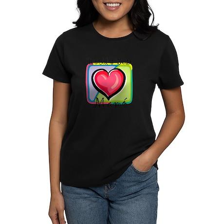 WB Grandma [Irish Gaelic] Women's Dark T-Shirt