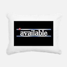 Available Rectangular Canvas Pillow