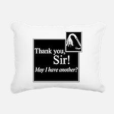 Thank You Sir Rectangular Canvas Pillow