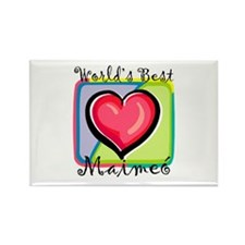 WB Grandma [Irish Gaelic] Rectangle Magnet
