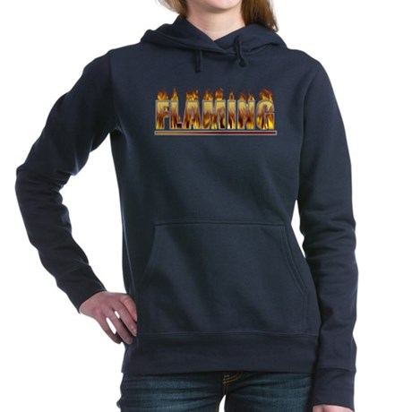 Flaming Hooded Sweatshirt