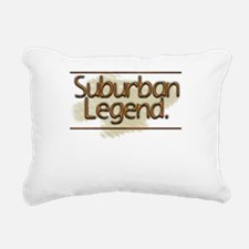 Suburban Legend Rectangular Canvas Pillow