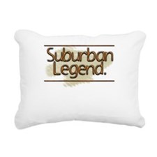 Suburban Square.p... Rectangular Canvas Pillow