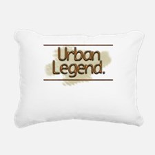 Urban Legend Rectangular Canvas Pillow