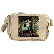 La Jolla Arbor, Guy Rose painting Messenger Bag