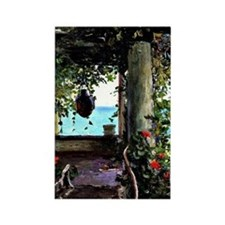 La Jolla Arbor, Guy Rose painting Rectangle Magnet