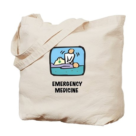 Emergency Medicine Tote Bag