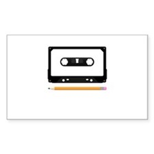 Tape Deck Decal